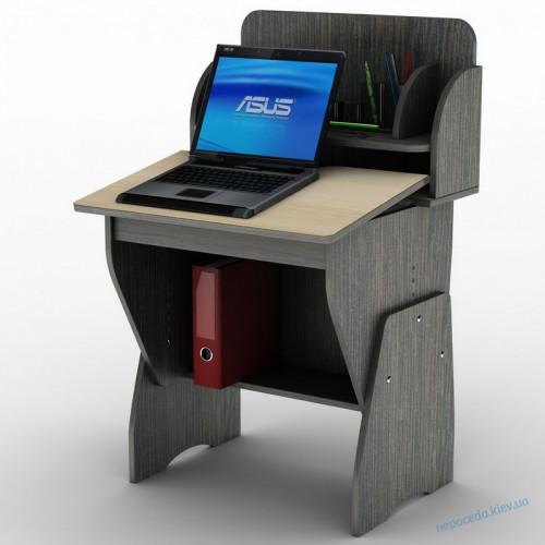 Детский компьютерный стол с полочками