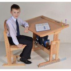 Комплект стіл і стілець школярам Розумник