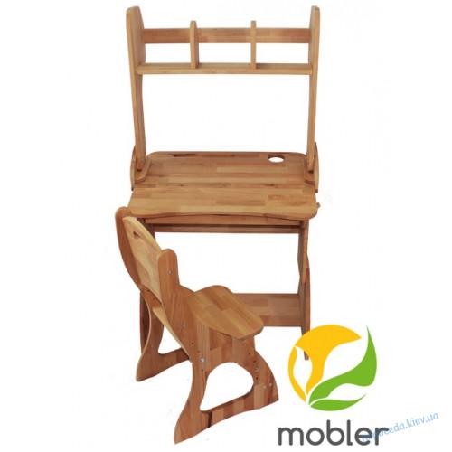 Комплект парта с надстройкой (ширина 70см) и стул