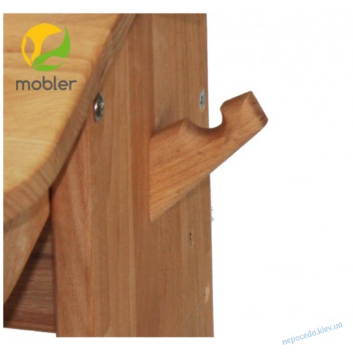 Комплект парта (ширина 120см) с надстройкой с тумбой и стулом