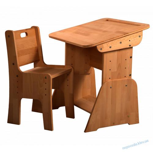 Стол для школьника с пеналом (без стула) 70сm