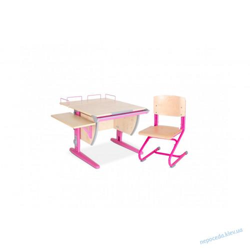 Регулируемый письменный стол для школьника + 2 полки