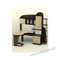 """Стол компьютерный """"СК-25"""" с надстройкой и ящиками"""