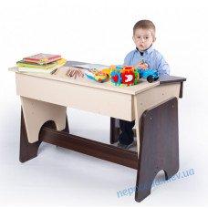 """Письмовий стіл і стілець дитячий """"Соня"""" двоколірний"""