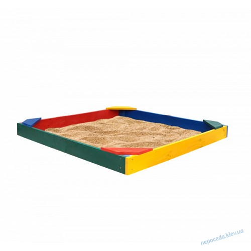 Песочница Ракушка 145х145 см эконом