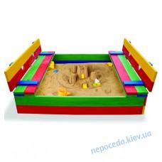 Детская цветная песочница SB-2 145см