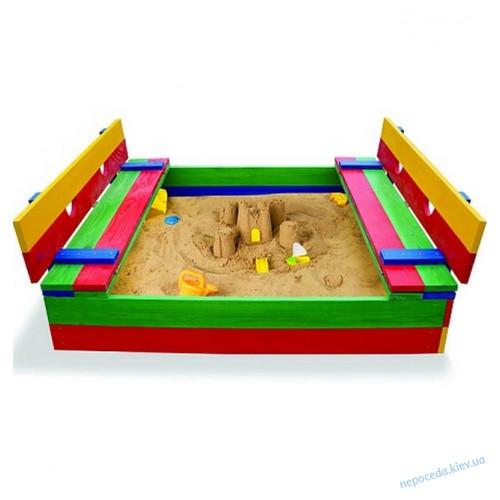 Детская цветная песочница SB-2