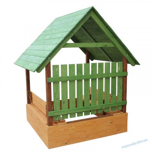 Дитяча пісочниця у вигляді будиночка висотою 200см