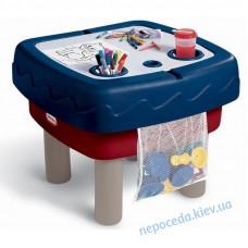 """Песочница-стол """"Играем и рисуем"""" 2 в 1"""