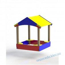 """Детский песочный дворик """"Домик"""""""