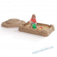 Дитяча пісочниця Забава з кришкою