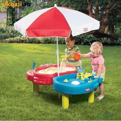 Детская песочница-столик Тихая гавань