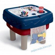 """Пісочниця-стіл """"Граємо і малюємо"""" 2 в 1"""
