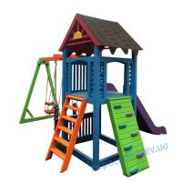 """""""Тюльпан"""" детская площадка из дерева (цвета в ассортименте)"""