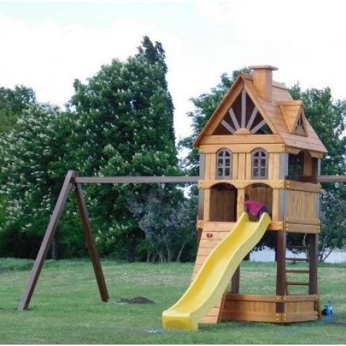Детская площадка Bruklin + 1 Модуль качели