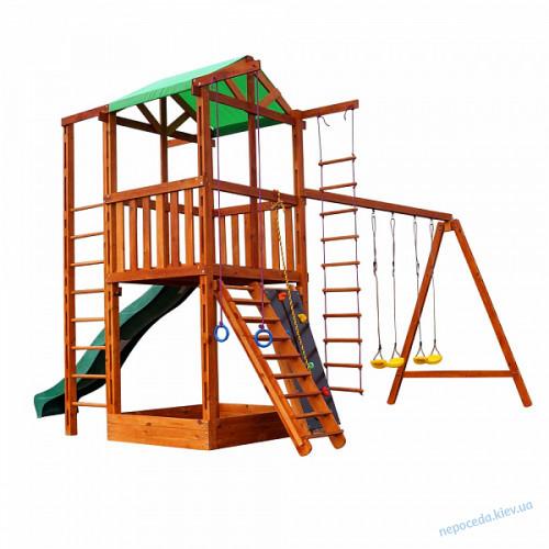 Игровой комплекс для дачи Babyland-6 из дерева