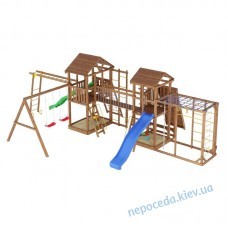 Детский спортивно развлекательный комплекс Лидер 5 для улицы