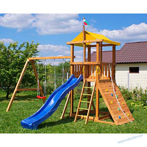 Дитячий майданчик з дерева Бебі land-4