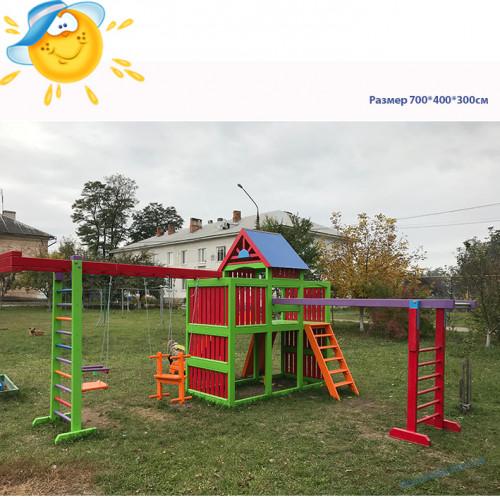 XL  Детская площадка из дерева Барвинок