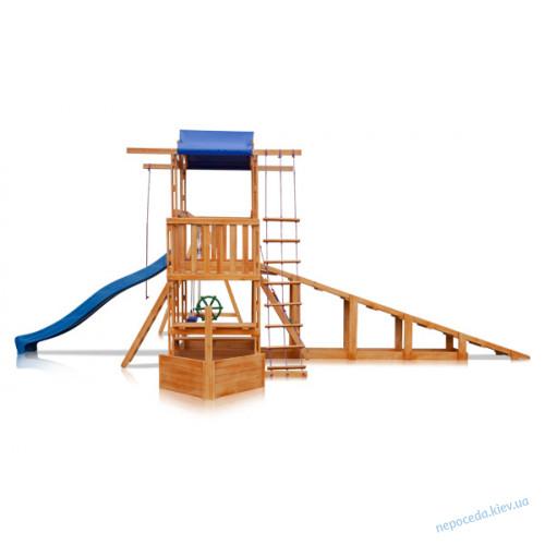 """Babyland-13   Детская площадка """"Капитан"""" с зимней горкой"""