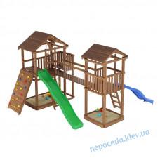 Игровая площадка с мостиком на улицу Leaf 9