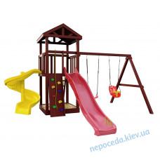 """Детская площадка с спиральной горкой """"Винтовая башня-2"""""""
