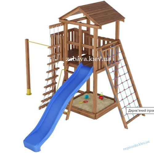 Детская площадка спортивно-игровая с турником Забава-4