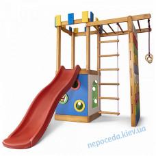 Детский игровой комплекс Башня-15 деревянный