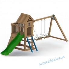 Детский деревянный комплекс Атлантис