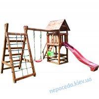 """Детский комплекс """"Большая игра"""" деревянный уличный"""
