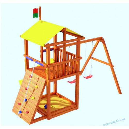 Детская площадка из дерева Беби land-4