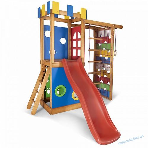 Детский игровой комплекс Башня-16 для улицы