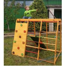 Детский комплекс игровой из дерева для улицы Малыш 150х180см