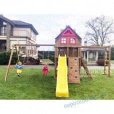 Детская площадка из дерева Lux-6/3 добротная и большая