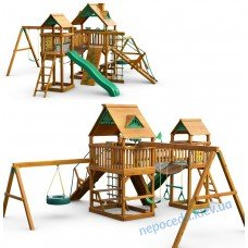 Детская площадка из дерева Гулливер