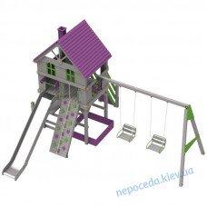 """Детский комплекс """"Ранчо"""" деревянный на детскую площадку"""