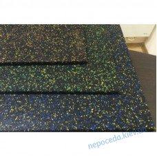 Резиновая плитка с ЭПДМ-гранулами