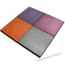 Плитка резиновая 500х500х20 (квадрат)