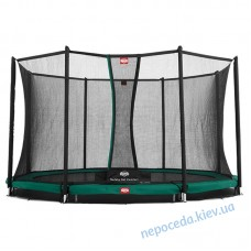 Батут BERG InGround Favorit 430 с сеткой Comfort InGround