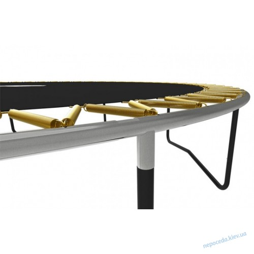 Овальный батут BERG Grand Champion 5,15 x 3,65 метра с сеткой Deluxe
