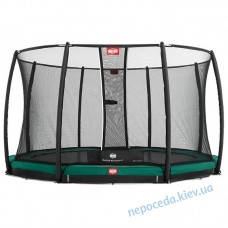 Батут BERG InGround Favorit 430 с сеткой Deluxe InGround