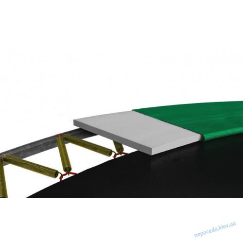 Батут BERG Elite+ 430 green с сеткой T-Series