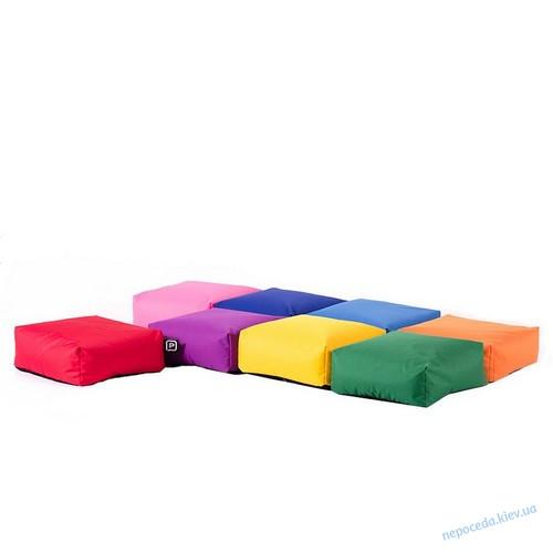 Кресло-конструктор Rainbow (набор пуфиков кубиков)