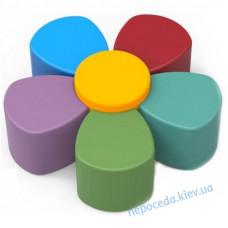 Комплект детских пуфов Цветок