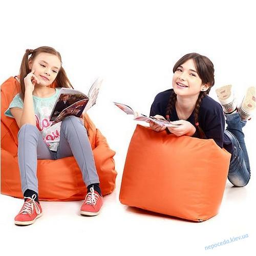 Пуф куб оксфорд игровой детский (в ассортименте)