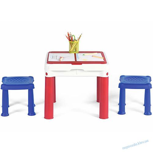 Детский стол для конструктора и творчества в игровую зону