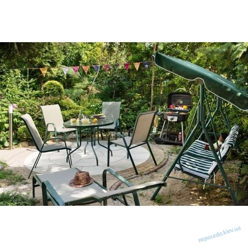 Качеля садовая гойдалка 3-местная 170х110х153 см