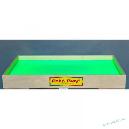 Световой планшет для рисования песком c отсеком для песка