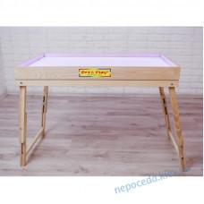 Сенсорний стіл для малювання піском зі знімною опорою з відсіком
