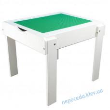 Детский столик-песочница с подсветкой и игровой поверхностью белый